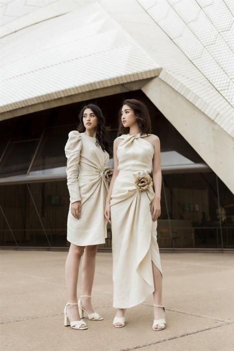 Cùng diện đồ giống nhau, hoa hậu Tiểu Vy và Đỗ Mỹ Linh ai sang chảnh hơn?