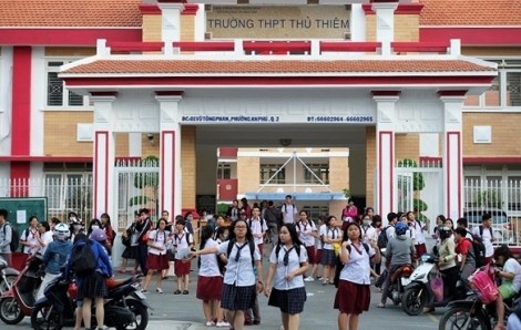 Trường THPT Thủ Thiêm thu lố tiền ôn thi của học sinh hàng trăm triệu đồng