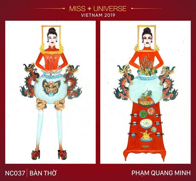 Ngoai 'Ban tho', cuoc thi tim trang phuc dan toc cho Hoang Thuy con co nhung thiet ke ky di khac