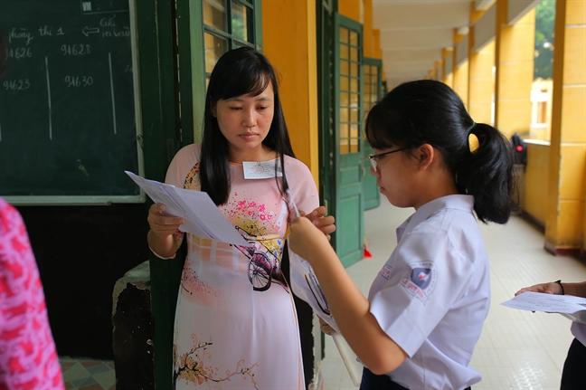 TP. Ho Chi Minh: Ngay 2/6, hon 80.000 thi sinh thi vao lop 10