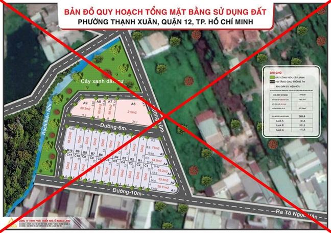 Q.12, TP.HCM: Thao do chin du an phan lo, ban nen trai phep o phuong Thanh Xuan
