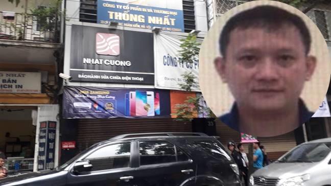 Bo Cong an ly giai viec truy na ong chu Nhat Cuong Mobile Bui Quang Huy