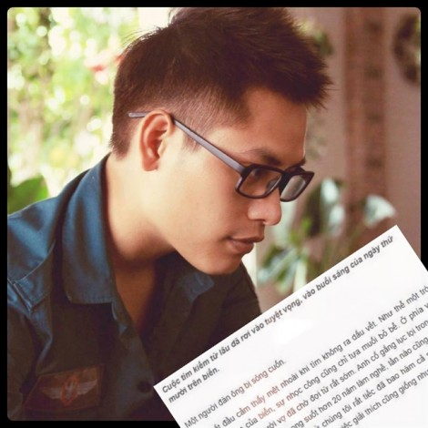 Nhà văn trẻ Kai Hoàng đạo văn của Nguyễn Ngọc Tư