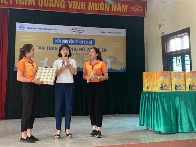 Doanh nghiep Viet chung tay hanh dong vi phu nu va tre em