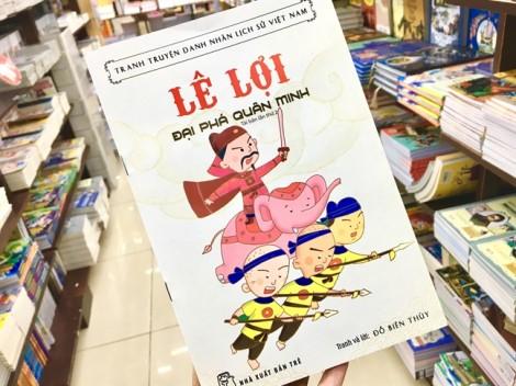 Truyện tranh thiếu nhi: Sử Việt vào tranh và hơn thế nữa