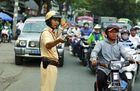 Xử lý sự cố giao thông liên quan đến thí sinh phải trước buổi thi một tiếng