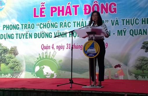 Phụ nữ quận Tư tuyên chiến với túi nilon và rác thải nhựa