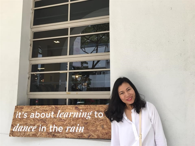 Tac gia Thu Ha: 'Khi sinh con la ban quyet dinh de trai tim minh ngoai co the'