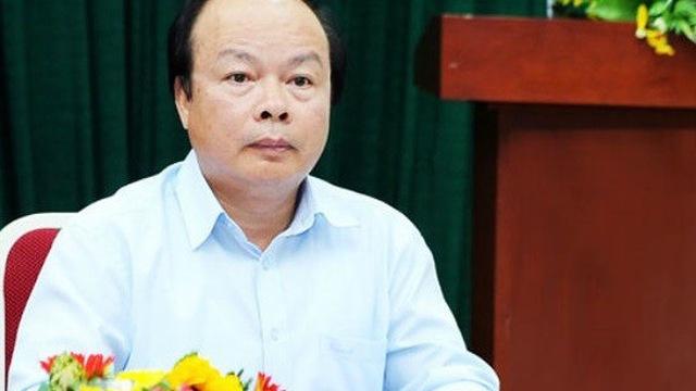 Canh cao Thu truong Bo Tai chinh Huynh Quang Hai va Chuan do doc Le Van Dao