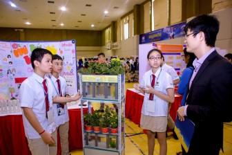Bất ngờ với các sản phẩm thông minh được chế tạo bởi học sinh cấp II