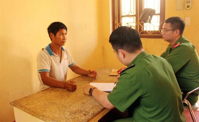 Tam giu doi tuong hiep dam be gai 10 tuoi tai Thai Nguyen