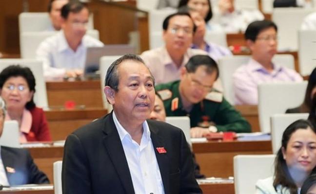 Pho Thu tuong Truong Hoa Binh: 'Co phu huynh muon con em minh thi dau nen hanh dong tieu cuc'