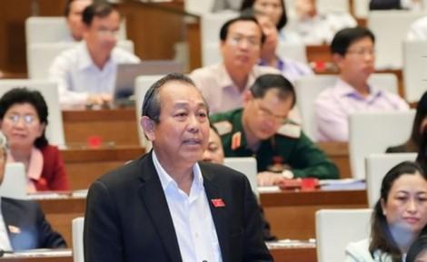 Phó Thủ tướng Trương Hòa Bình: 'Có phụ huynh muốn con em mình thi đậu nên hành động tiêu cực'