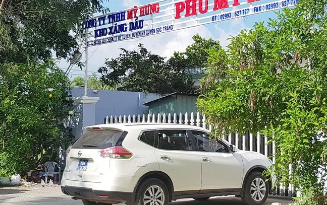 Vu dai gia xang dau Trinh Suong: Dung bot mau de lam xang gia