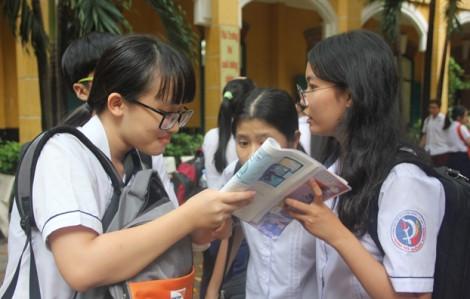 TPHCM: Công bố đáp án các môn thi lớp 10
