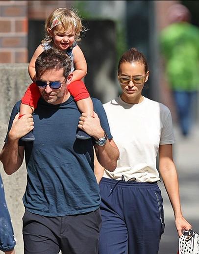 Bradley Cooper va sieu mau Irina Shayk ly hon, 'roi' chuyen con gai 2 tuoi se o voi ai