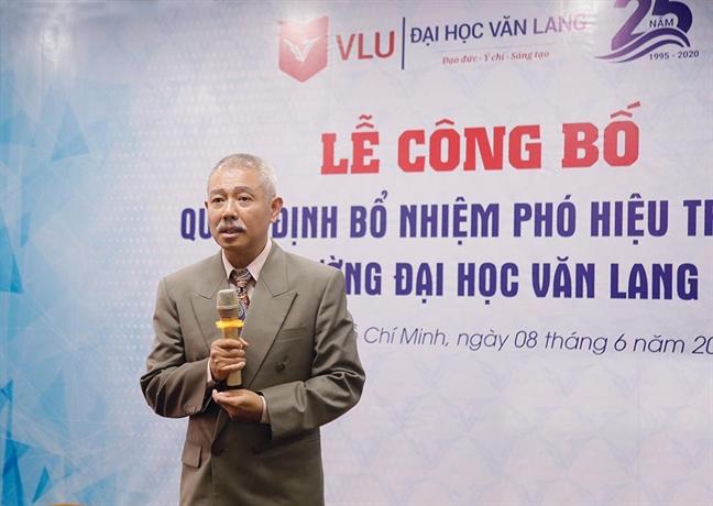 Bo nhiem 'giao su quan dui' lam Pho hieu truong Truong DH Van Lang