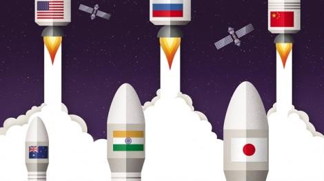 Trung Quốc đang dẫn đầu cuộc đua vào vũ trụ ?