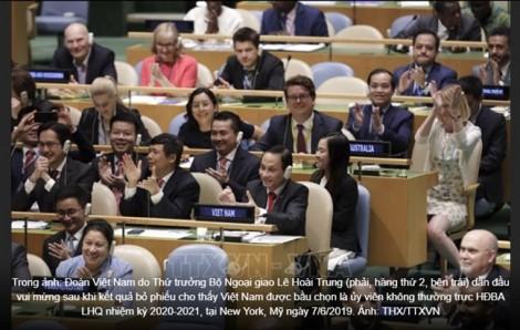 Việt Nam trúng cử ủy viên không thường trực HĐBA LHQ với số phiếu gần tuyệt đối