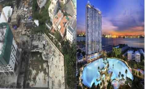 Dự án An Gia Skyline: Giao nhà xong, hồ cảnh quan biến thành hồ điều tiết, 'bốc hơi' hàng nghìn m2