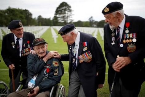 Top ảnh trong tuần: Thế giới kỷ niệm cuộc đổ bộ Normandy, góp phần chấm dứt chiến tranh Thế giới II