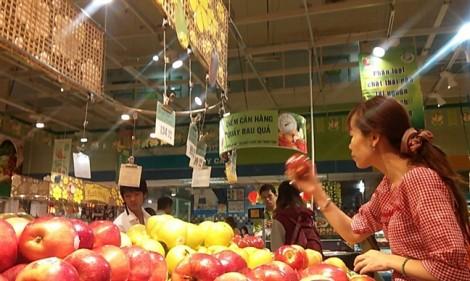 Rau quả nhập khẩu về Việt Nam tăng mạnh