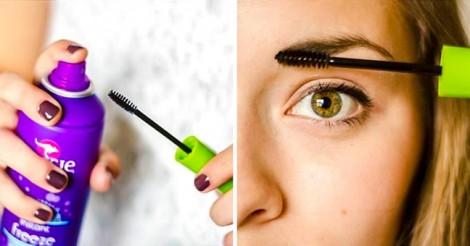 16 công dụng khác của keo xịt tóc ít người biết