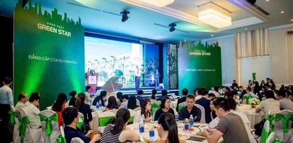Dinh chi xay dung du an Green Star Sky Garden cua Cong ty Hung Loc Phat