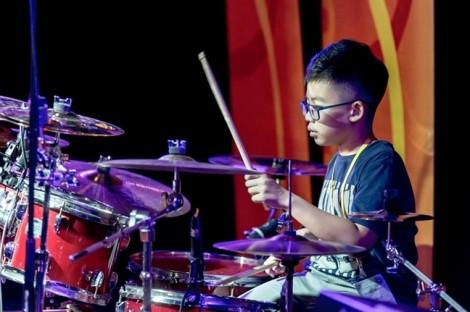Tay trống 'nhí' 13 tuổi giành giải Vàng tại Liên hoan nghệ thuật châu Á - Thái Bình Dương