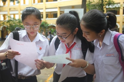 Tuyển sinh lớp 10 tại TP.HCM: Hơn 46.000 thí sinh có điểm tiếng Anh dưới trung bình