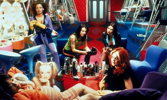 Spice Girls thanh sieu anh hung trong phim hoat hinh
