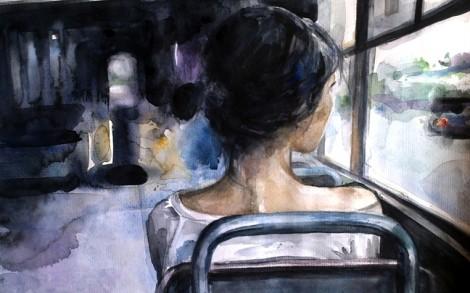 Cô gái trẻ bị sàm sỡ trên chuyến xe đêm và sự im lặng đáng sợ