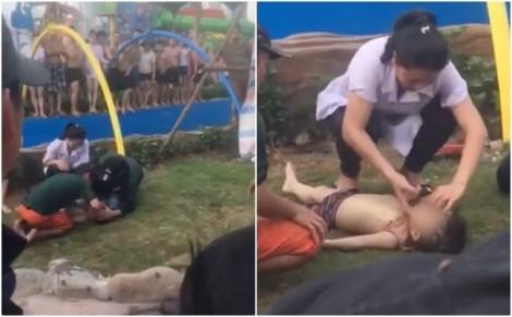 Hà Nội: Nguyên nhân khiến một cháu nhỏ tử vong tại công viên nước mới khai trương