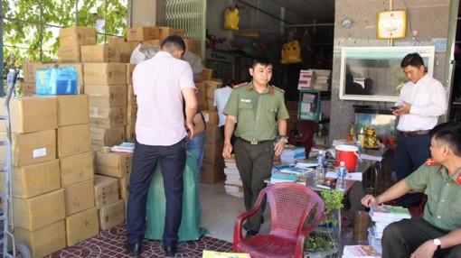 Bình Định: Phát hiện 72.600 cuốn sách giáo khoa nghi làm giả