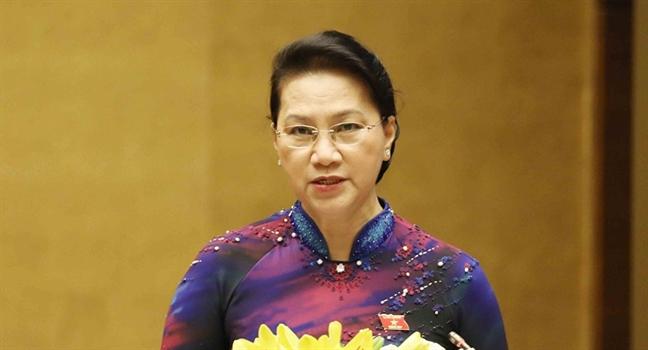 Chu tich Quoc hoi Nguyen Thi Kim Ngan: 'Quoc hoi ngay cang bam sat thuc tien cuoc song'