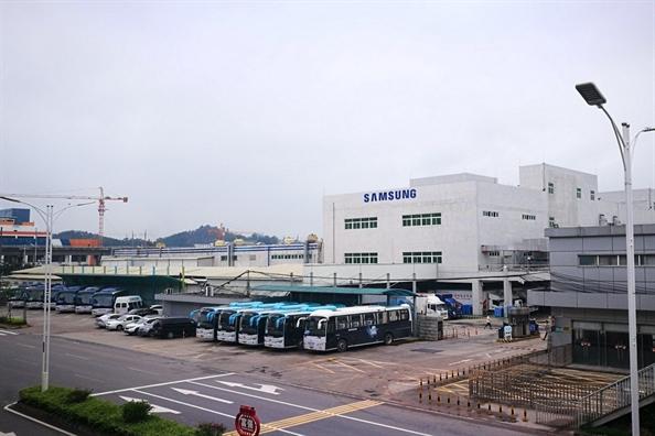 Samsung dong cua nha may cuoi cung o Trung Quoc