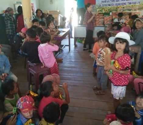 Đến với phụ nữ, trẻ em thôn Buôn Khóa