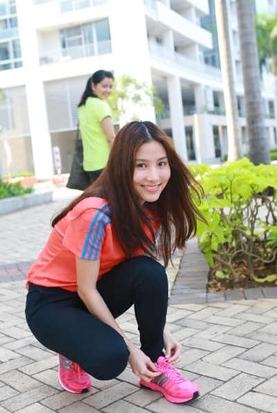 Khi sao Viet la nhung 'con nghien' cua duong chay marathon