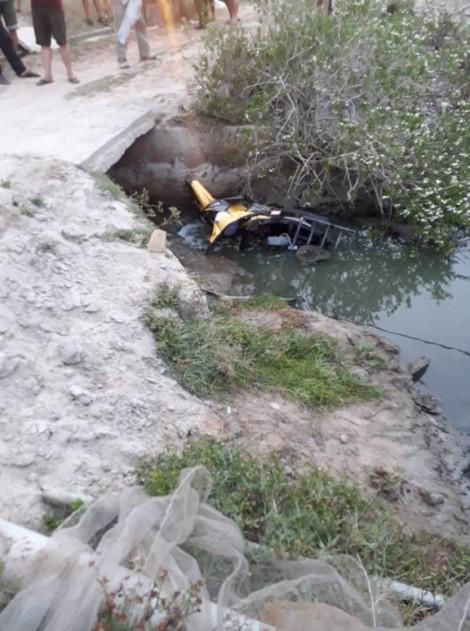 Bộ đội về phép giải quyết chuyện riêng, tử vong dưới mương nước