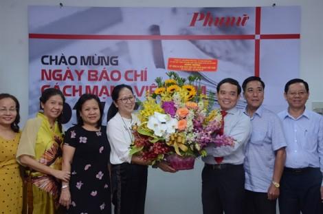 Phó bí thư Thường trực Thành ủy TP.HCM thăm, chúc mừng Báo Phụ Nữ TP.HCM
