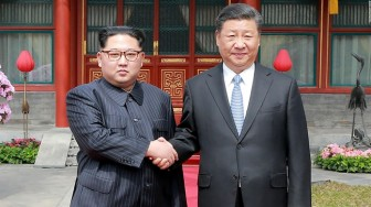 Chủ tịch Trung Quốc Tập Cận Bình  thăm Triều Tiên