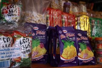Đồ ăn vặt thu tiền tấn nếu đem xuất khẩu
