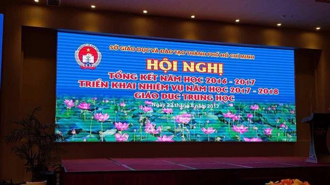 21 'tour' hoi nghi, ton 29,7 ty dong: Lanh dao so GD-DT di bang tien…doanh nghiep