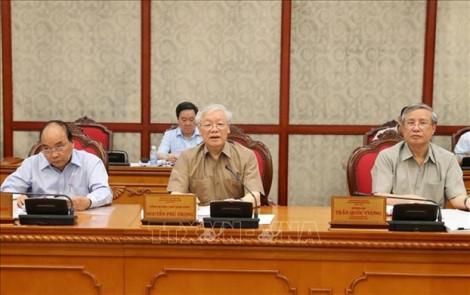 Clip Tổng bí thư, Chủ tịch nước Nguyễn Phú Trọng chủ trì họp Bộ Chính trị