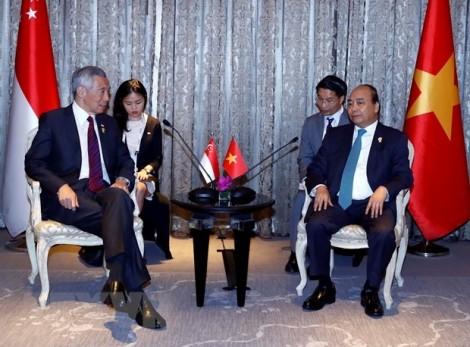Thủ tướng Nguyễn Xuân Phúc phê phán phát biểu của Thủ tướng Singapore Lý Hiển Long