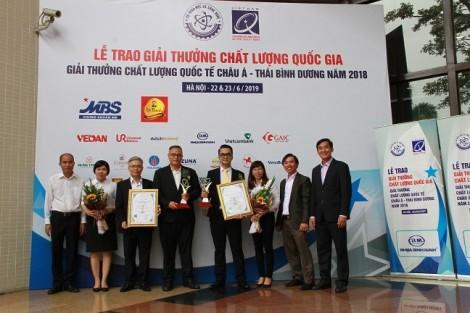 C.P đạt hai giải thưởng chất lượng quốc gia Việt Nam