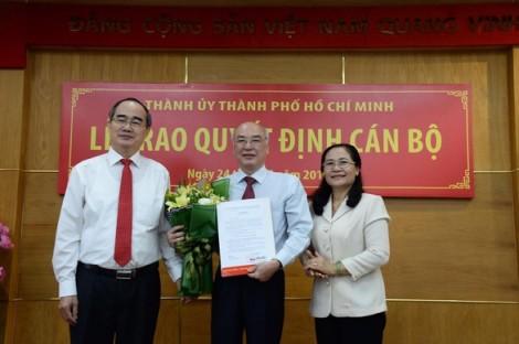 Ông Phan Nguyễn Như Khuê được bổ nhiệm làm Trưởng ban Tuyên giáo Thành ủy TP.HCM