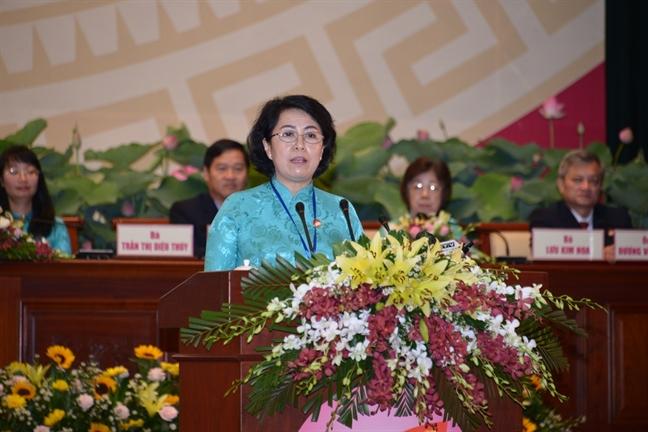 Bi thu Thanh uy TP.HCM Nguyen Thien Nhan: Mat tran can giam sat cac to chuc co so Dang.