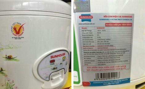 Sau bê bối của Asanzo, Sunhouse có gắn nhầm tem Hàng Việt Nam chất lượng cao?