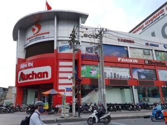 15 siêu thị của Auchan tại Việt Nam về tay SaiGon Co.op